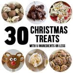 30 Christmas Treats with 5 Ingredients or Less