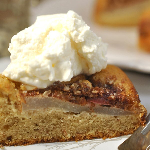 Breakfast Pear Cake