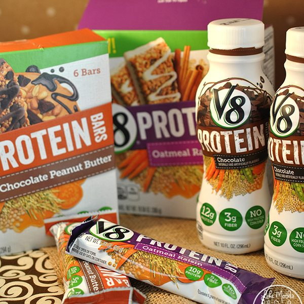 Campbell's V8 Protein Shakes and Bars