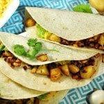 Potato Black-eyed Pea Tacos