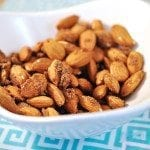 Cinnamon Sugar and Thyme Almonds