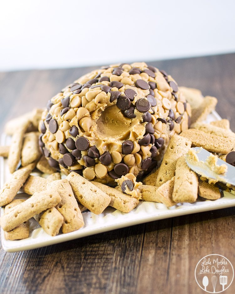 peanut butter cheese ball 2
