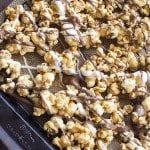 Zebra Caramel Popcorn
