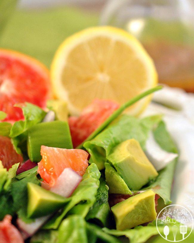 Avocado Citrus Salad - Like Mother, Like Daughter