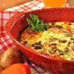 baked omelet 2 square