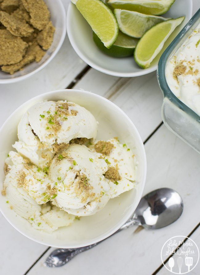 ... Key Lime Pie Ice Cream - This No Churn Key Lime Pie Ice Cream