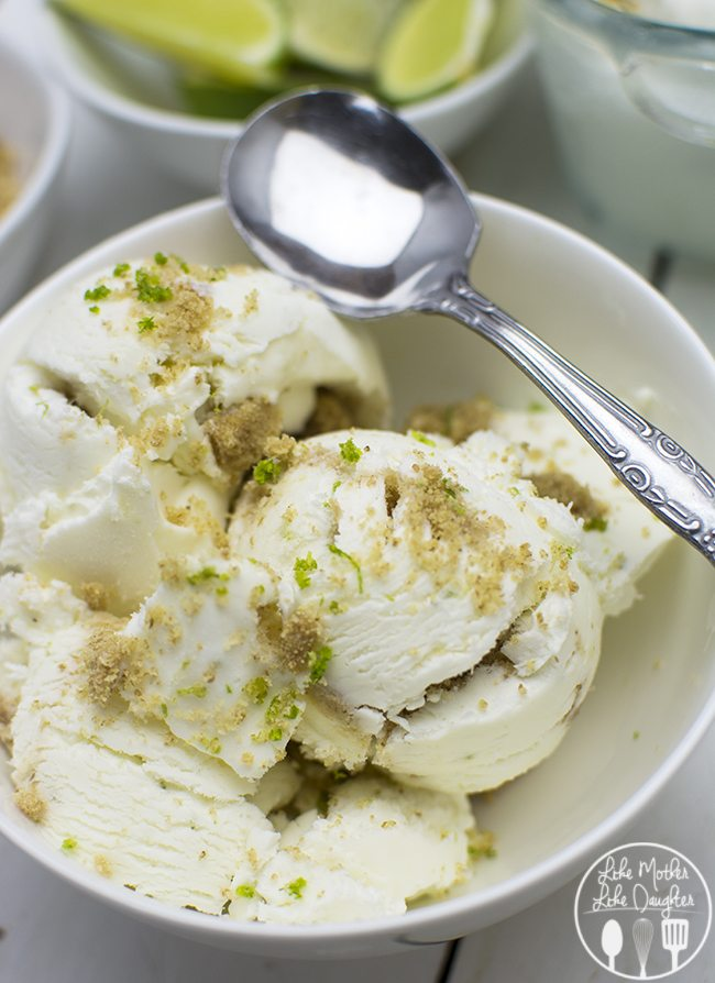 No Churn Key Lime Pie Ice Cream - This No Churn Key Lime Pie Ice Cream ...