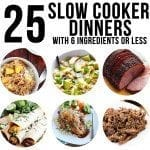 slow cooker recipes square