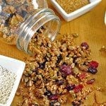 nut and seed granola 4 square