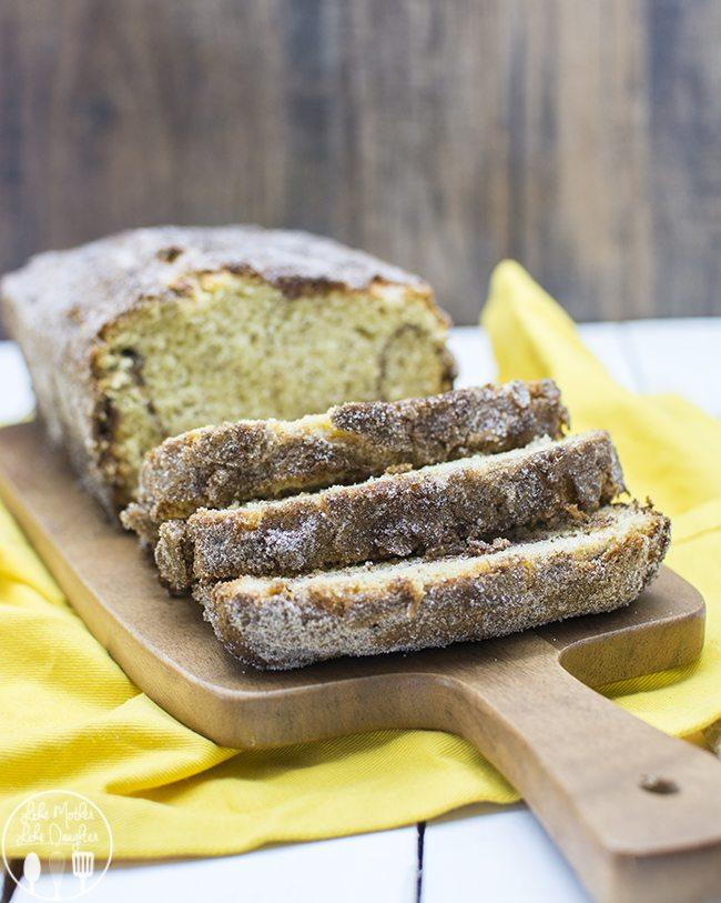 cinnamon sugar banana bread 1