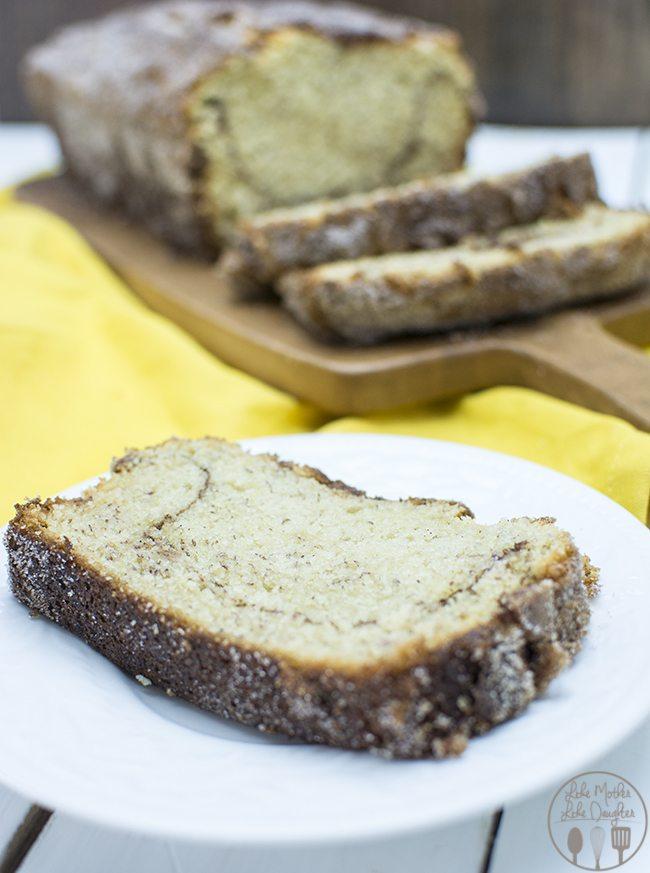 cinnamon sugar banana bread 6