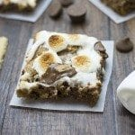S'mores Peanut Butter Cookie Bars