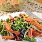 carrot broccoli crunch salad 1 square