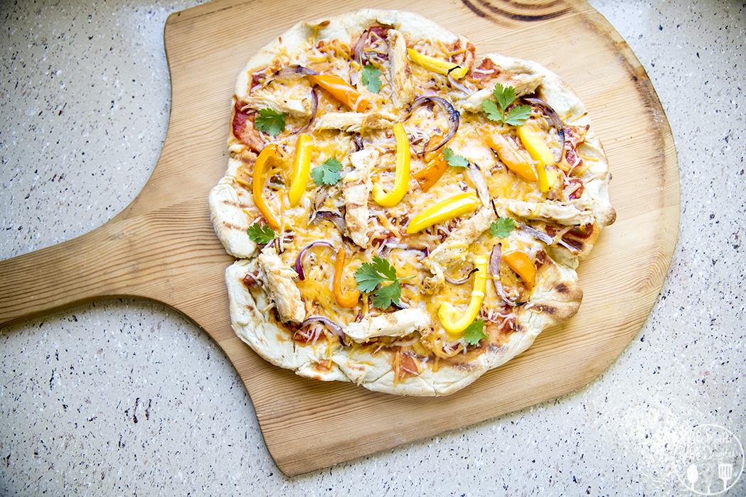 Chicken Fajita Pizza - Like Mother Like Daughter