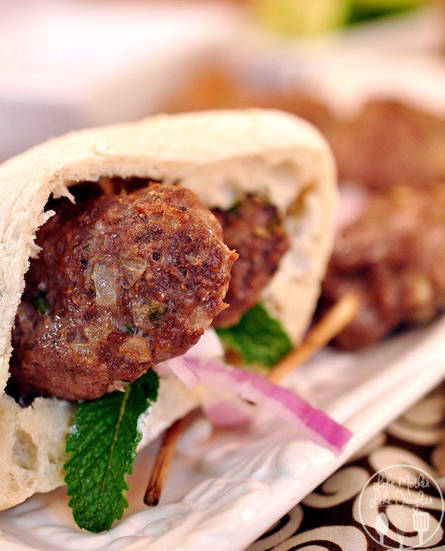 Lamb Kebabs - Like Mother, Like Daughter