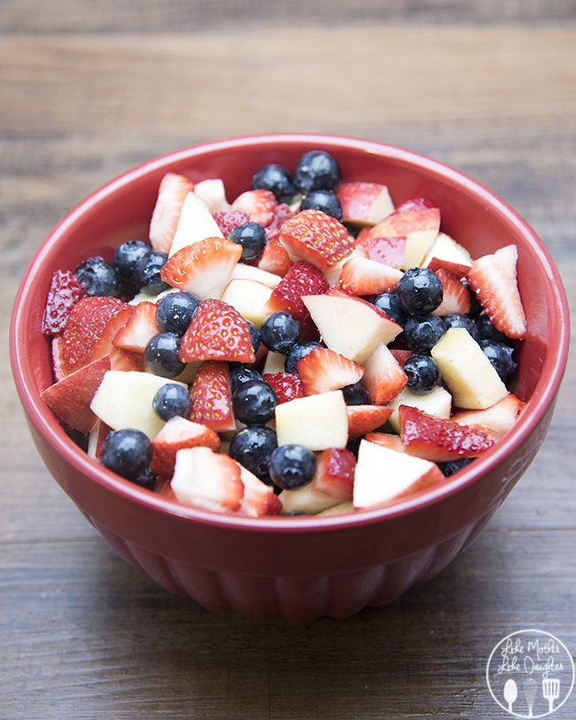 red white and blue fruit salad 3