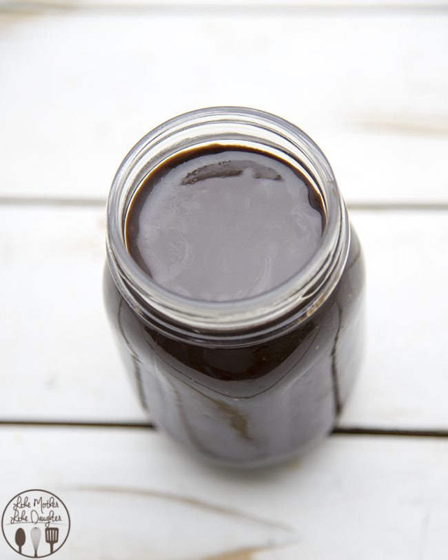 Hot Fudge Sauce - this delicious, smooth and chocolaty hot fudge sauce is perfect on top of ice cream, pies, or just eaten by the spoonful.