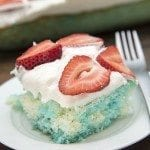 Red White and Blue Jello Poke Cake