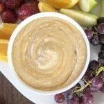 Honey Peanut Butter Yogurt Dip