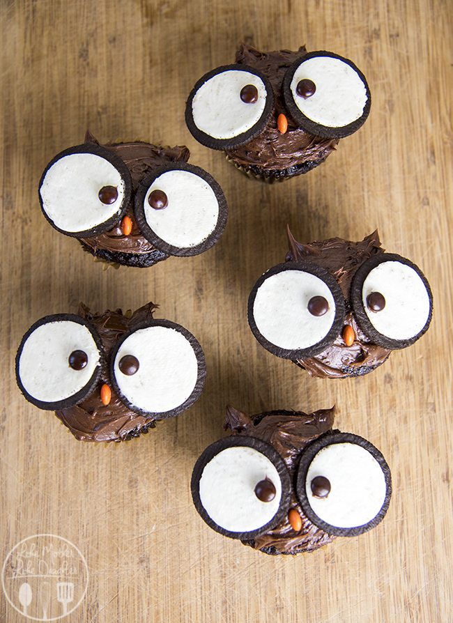 Owl Cupcakes Like Mother Like Daughter