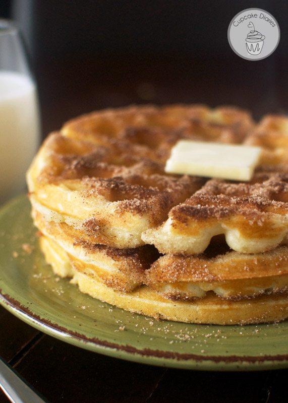 churro-waffles