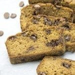Healthier Pumpkin Chocolate Chip Bread