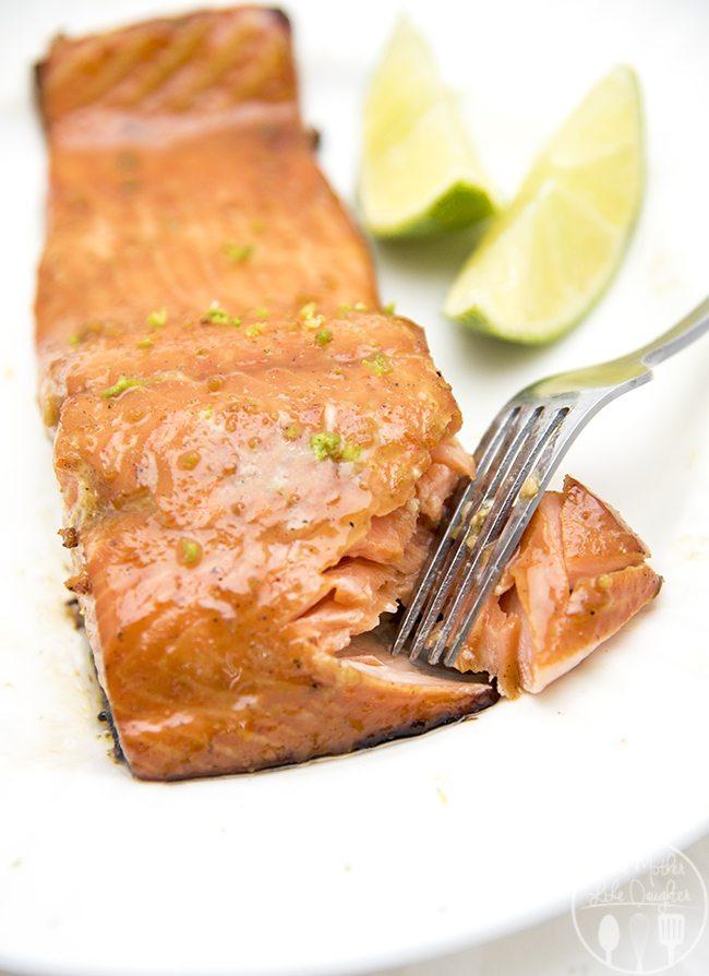 honey lime salmon 1