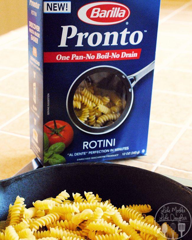 lemony chicken one pot pasta 3