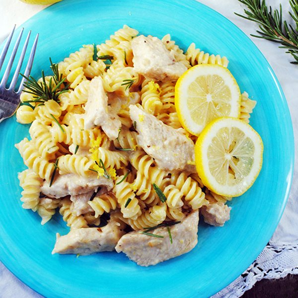Lemony Chicken One Pot Pasta