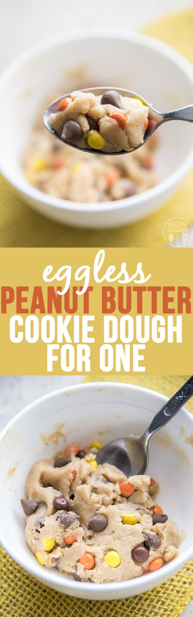 Peanut Butter Chocolate Chip Cookie Dough - LMLDFood