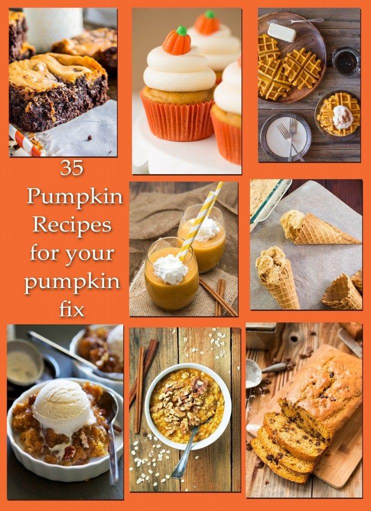 35 Pumpkin Recipes for a great fall