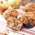 apple crumb muffins 3square