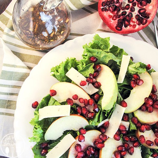 Pomegranate Fall Salad
