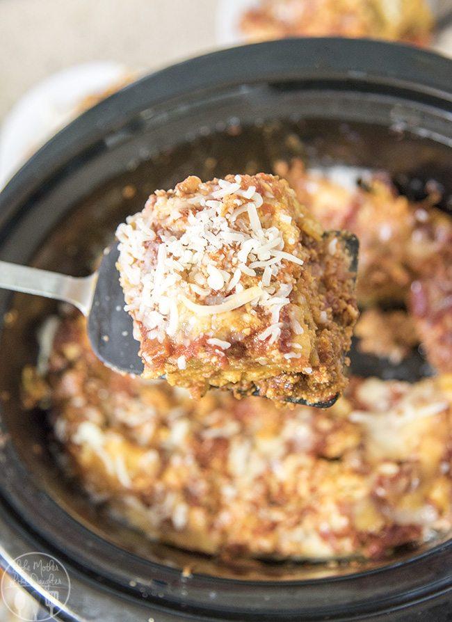 slow cooker lasagna 2
