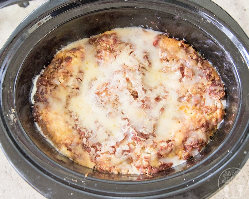 Slow Cooker Lasagna - Like Mother Like Daughter
