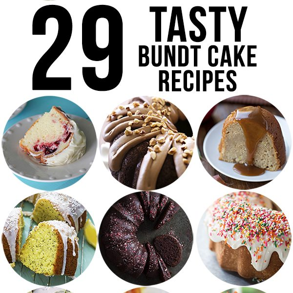 bundt cake recipes square