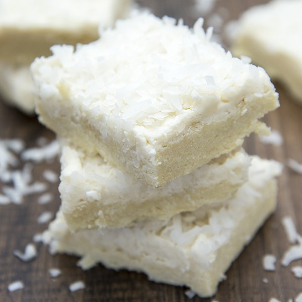 Coconut Sugar Cookie Bars