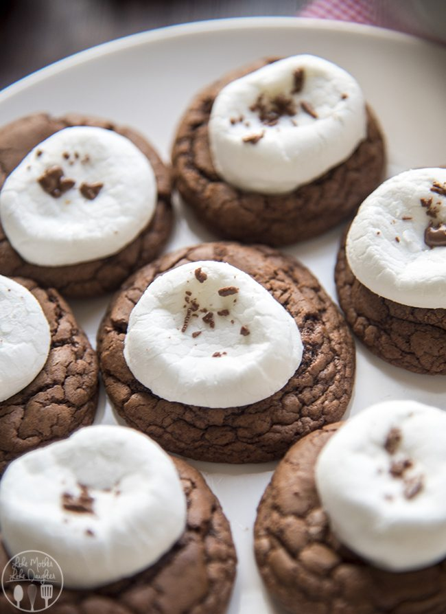 Hot Chocolate Cookies - These delicious rich, soft chocolate cookies ...