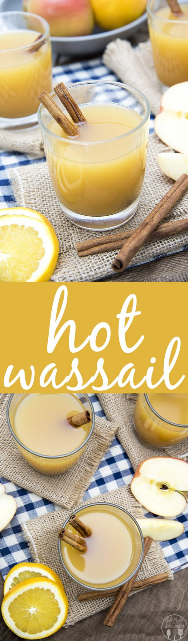 This Hot wassail recipe combines apple cider, pineapple juice and orange juice with a great cinnamon undertone for a perfect holiday drink! It can be made on the stove or in a slow cooker!