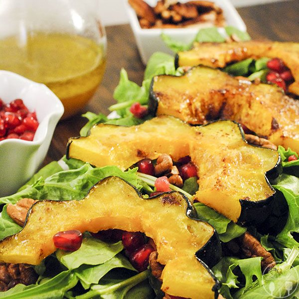 Roasted Autumn Squash Salad