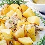 Herb Roasted Chicken and Potatoes