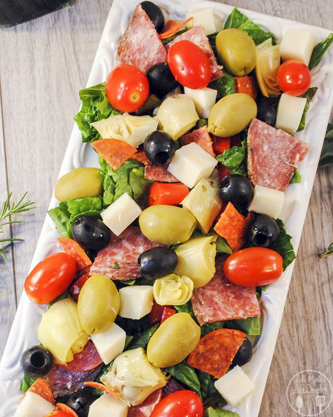 Antipasti Salad - Like Mother, Like Daughter