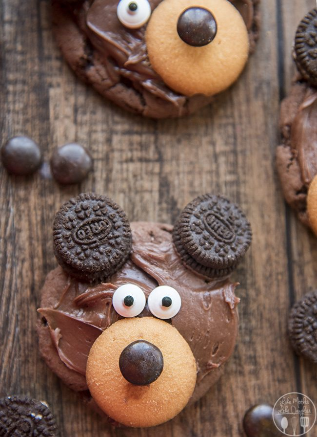 Bear Cookies Like Mother Like Daughter