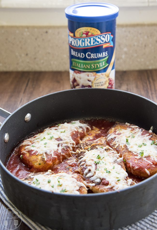 chicken parmesan with bread crumbs recipe