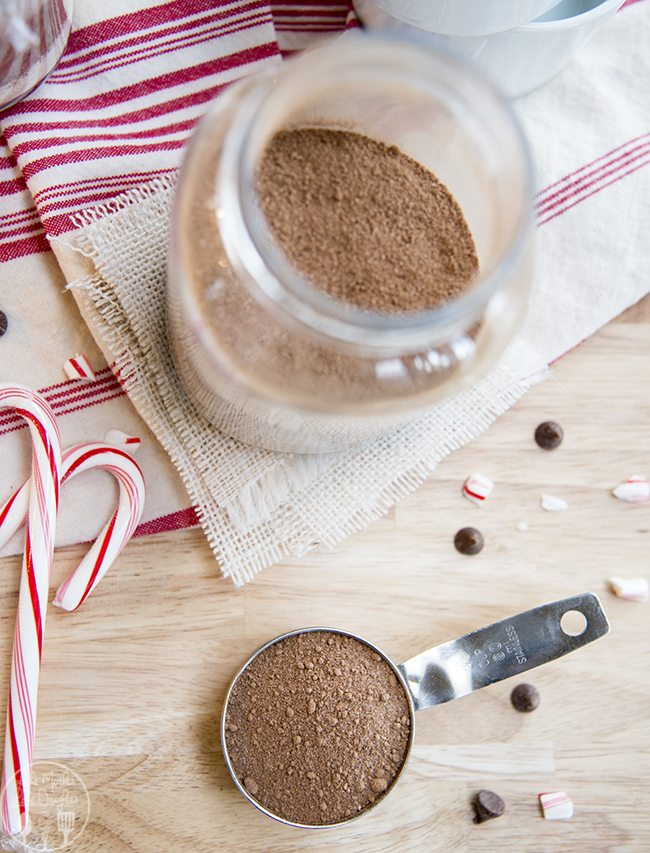 ... hot chocolate mix is perfect for a chilly day, or served up in a cute
