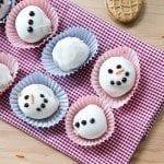 Nutter Butter Snowman Truffles