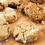 Orange Molasses Cookies