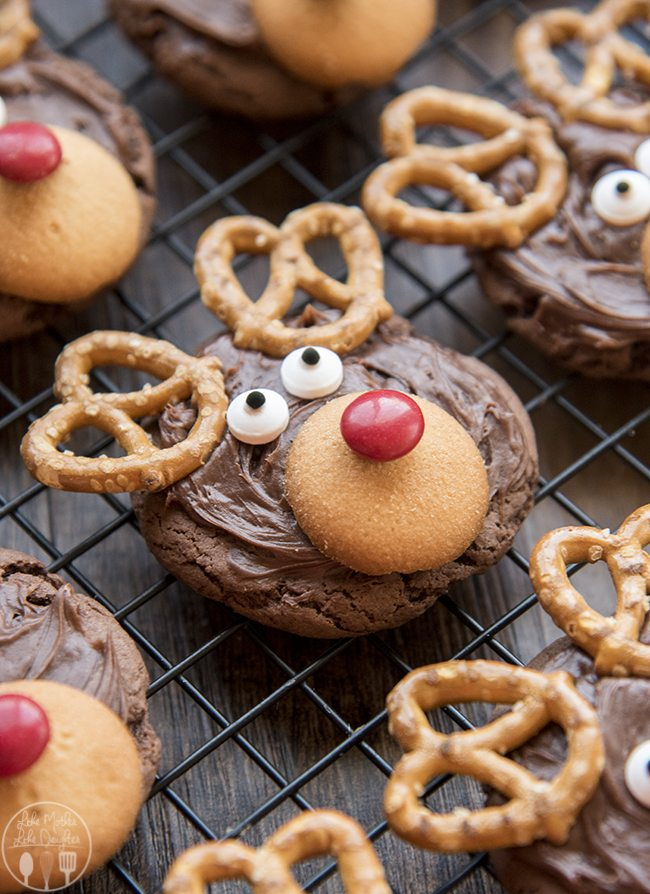 reindeer cookies these reindeer cookies are so adorable and easy to make they