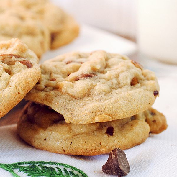 Butter Pecan Chocolate Chip Cookies