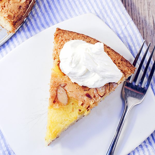 Almond Lemon Curd Torta